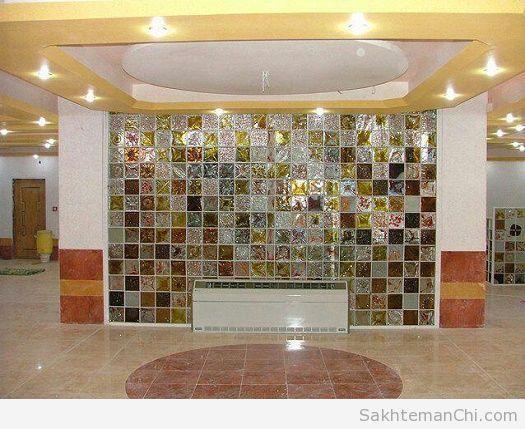 کاربرد تایل شیشه ای بازیافتی در دکوراسیون داخلی