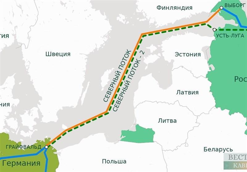 قصد آمریکا برای بلوکه کردن پروژه انتقال گاز جریان شمالی 2
