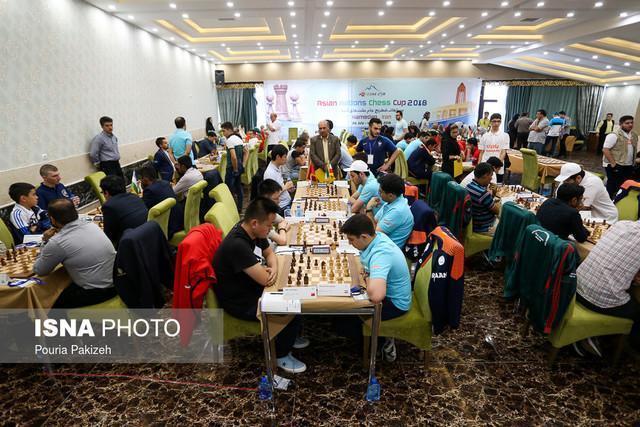پیروزی تیم سبز شطرنج ایران در سرانجام دور چهارم جام ملت های آسیا