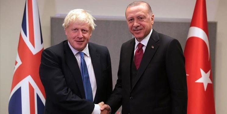 رایزنی تلفنی اردوغان و جانسون درباره سوریه، لیبی و منطقه