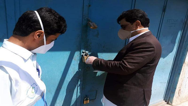 خبرنگاران 23 واحد صنفی در ایرانشهر پلمب شدند