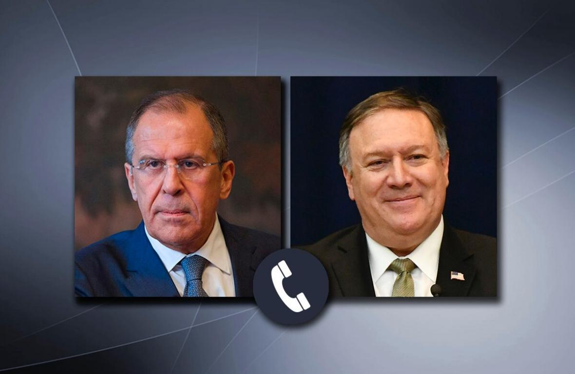 خبرنگاران تماس لاوروف و پمپئو برای پیگیری توافقات سران دو کشور درباره کرونا