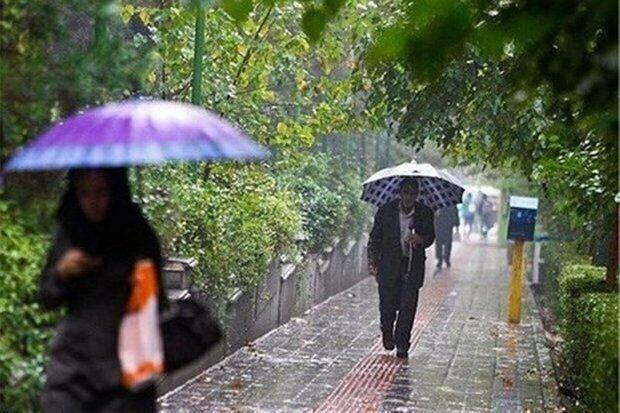 بارندگی های استان تهران تا 23 فروردین ادامه دارد