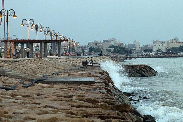 افزایش حضور شهروندان در ساحل بوشهر ، ساحل منشا انتشار ویروس کرونا می گردد